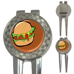 Burger Double 3-in-1 Golf Divots