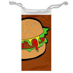 Burger Double Jewelry Bag