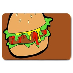 Burger Double Large Doormat