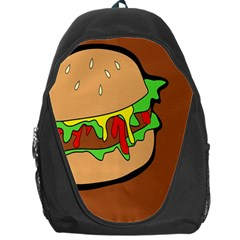 Burger Double Backpack Bag