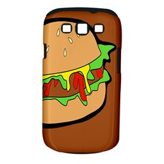 Burger Double Samsung Galaxy S III Classic Hardshell Case (PC+Silicone)
