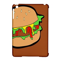 Burger Double Apple iPad Mini Hardshell Case (Compatible with Smart Cover)