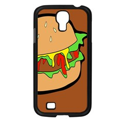 Burger Double Samsung Galaxy S4 I9500/ I9505 Case (Black)