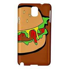 Burger Double Samsung Galaxy Note 3 N9005 Hardshell Case