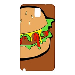 Burger Double Samsung Galaxy Note 3 N9005 Hardshell Back Case