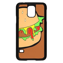 Burger Double Samsung Galaxy S5 Case (Black)