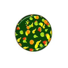 Seamless Tile Background Abstract Hat Clip Ball Marker (4 Pack)