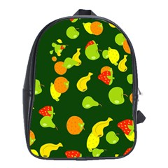 Seamless Tile Background Abstract School Bags (XL)