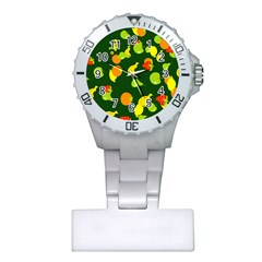 Seamless Tile Background Abstract Plastic Nurses Watch