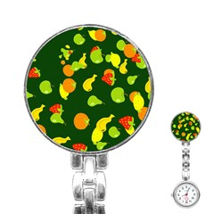 Seamless Tile Background Abstract Stainless Steel Nurses Watch