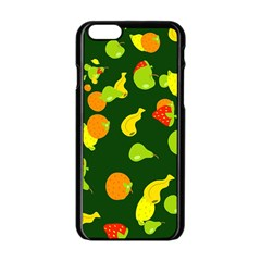 Seamless Tile Background Abstract Apple iPhone 6/6S Black Enamel Case