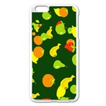 Seamless Tile Background Abstract Apple iPhone 6 Plus/6S Plus Enamel White Case Front