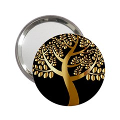 Abstract Art Floral Forest 2 25  Handbag Mirrors