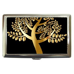Abstract Art Floral Forest Cigarette Money Cases
