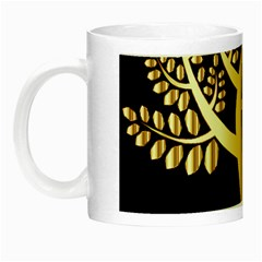 Abstract Art Floral Forest Night Luminous Mugs