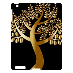 Abstract Art Floral Forest Apple iPad 3/4 Hardshell Case