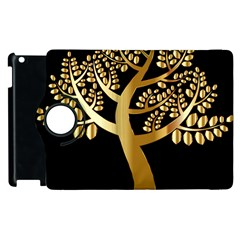 Abstract Art Floral Forest Apple iPad 3/4 Flip 360 Case
