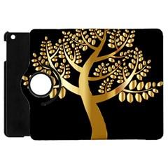 Abstract Art Floral Forest Apple iPad Mini Flip 360 Case