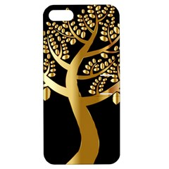 Abstract Art Floral Forest Apple Iphone 5 Hardshell Case With Stand