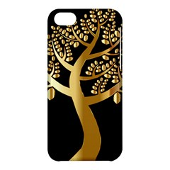 Abstract Art Floral Forest Apple iPhone 5C Hardshell Case