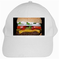 Abstract Barbeque Bbq Beauty Beef White Cap