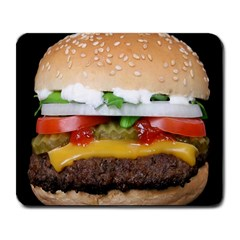 Abstract Barbeque Bbq Beauty Beef Large Mousepads