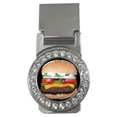 Abstract Barbeque Bbq Beauty Beef Money Clips (CZ)
