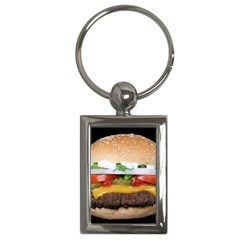 Abstract Barbeque Bbq Beauty Beef Key Chains (Rectangle)