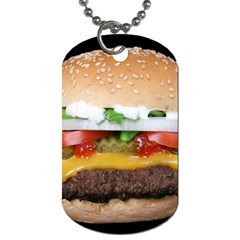 Abstract Barbeque Bbq Beauty Beef Dog Tag (one Side)