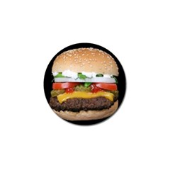 Abstract Barbeque Bbq Beauty Beef Golf Ball Marker