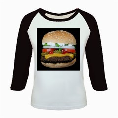Abstract Barbeque Bbq Beauty Beef Kids Baseball Jerseys