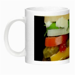 Abstract Barbeque Bbq Beauty Beef Night Luminous Mugs