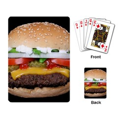 Abstract Barbeque Bbq Beauty Beef Playing Card