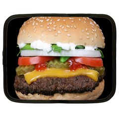 Abstract Barbeque Bbq Beauty Beef Netbook Case (Large)