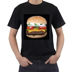 Abstract Barbeque Bbq Beauty Beef Men s T-Shirt (Black)
