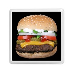 Abstract Barbeque Bbq Beauty Beef Memory Card Reader (square)