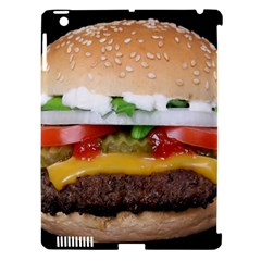 Abstract Barbeque Bbq Beauty Beef Apple Ipad 3/4 Hardshell Case (compatible With Smart Cover)