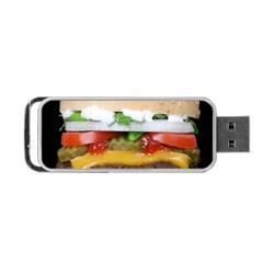 Abstract Barbeque Bbq Beauty Beef Portable USB Flash (Two Sides)