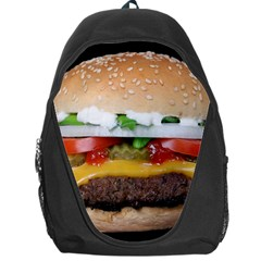 Abstract Barbeque Bbq Beauty Beef Backpack Bag