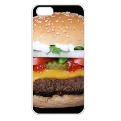 Abstract Barbeque Bbq Beauty Beef Apple iPhone 5 Seamless Case (White)