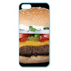 Abstract Barbeque Bbq Beauty Beef Apple Seamless iPhone 5 Case (Color)