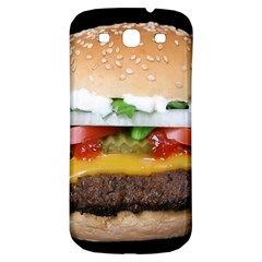 Abstract Barbeque Bbq Beauty Beef Samsung Galaxy S3 S III Classic Hardshell Back Case