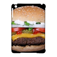 Abstract Barbeque Bbq Beauty Beef Apple iPad Mini Hardshell Case (Compatible with Smart Cover)