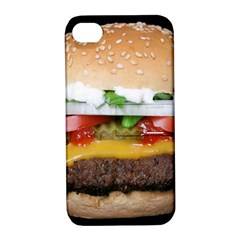 Abstract Barbeque Bbq Beauty Beef Apple Iphone 4/4s Hardshell Case With Stand