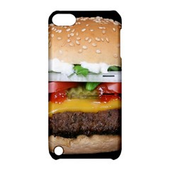 Abstract Barbeque Bbq Beauty Beef Apple iPod Touch 5 Hardshell Case with Stand