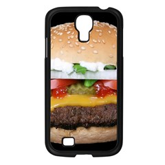 Abstract Barbeque Bbq Beauty Beef Samsung Galaxy S4 I9500/ I9505 Case (Black)