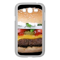 Abstract Barbeque Bbq Beauty Beef Samsung Galaxy Grand DUOS I9082 Case (White)