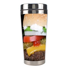 Abstract Barbeque Bbq Beauty Beef Stainless Steel Travel Tumblers