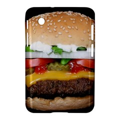 Abstract Barbeque Bbq Beauty Beef Samsung Galaxy Tab 2 (7 ) P3100 Hardshell Case