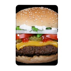 Abstract Barbeque Bbq Beauty Beef Samsung Galaxy Tab 2 (10.1 ) P5100 Hardshell Case